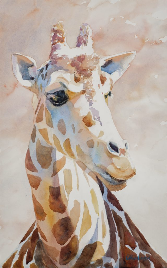 This image has an empty alt attribute; its file name is Giraffe-640x1024.jpg